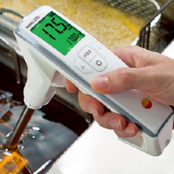 【送料無料】デジタル食用油テスター testo270 0563・2750_食用油用温度計 業務用