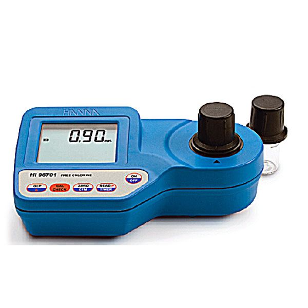 【送料無料】ハンナ 残留塩素計 HI-96701C_残留塩素を簡単測定 日常防水型