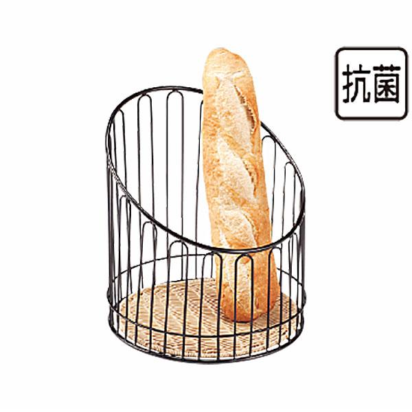 【送料無料】パン バスケット _ プリート バスケットスタンド丸 ナチュラル DS508-40-NA 高_かご