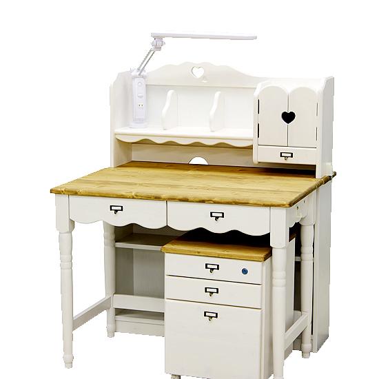 学習机 カントリースタイル カタチが変わる 3Dデスク 幅100cm(lup-319)ds662-2-19[01]