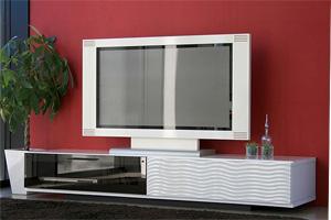 真っ白いピカピカワイドなテレビボードTV台(シュール170)gr283-2[01]