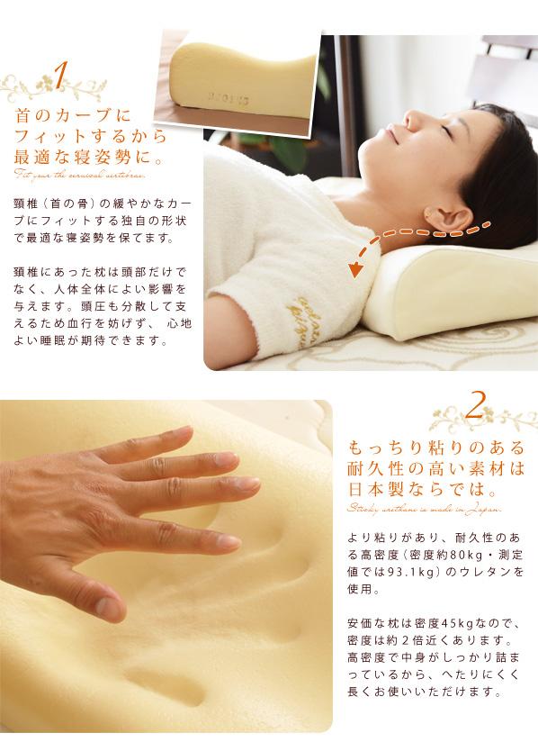 在日本记忆泡沫枕头记忆海绵枕头与枕头案例密度 80 公斤模压的内存泡沫枕头枕枕头枕枕颈部枕睡枕枕头盖枕头盖颈椎枕头睡得着