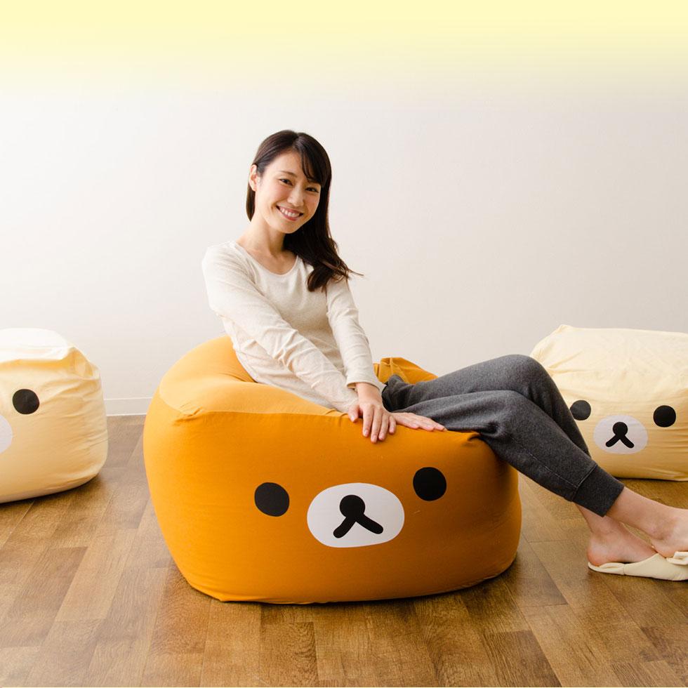 キューブ/Mサイズ すみっコぐらし ビーズクッション 「 クッション」 もちもちシリーズ  日本製 mochimochi ソファ マイクロビーズクッション ビーズソファ ソファー すみっこ すみッコ ラッピング プレゼント ギフト 国産 東京家具