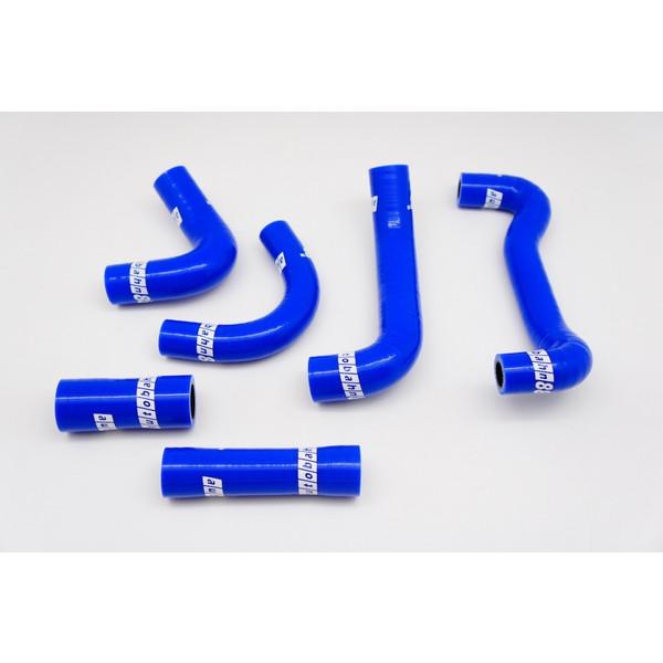 シリコン ウォーター ポンプホース&ブリーザー ホース キット スバル レガシィ 4代目 BL/BP系 青
