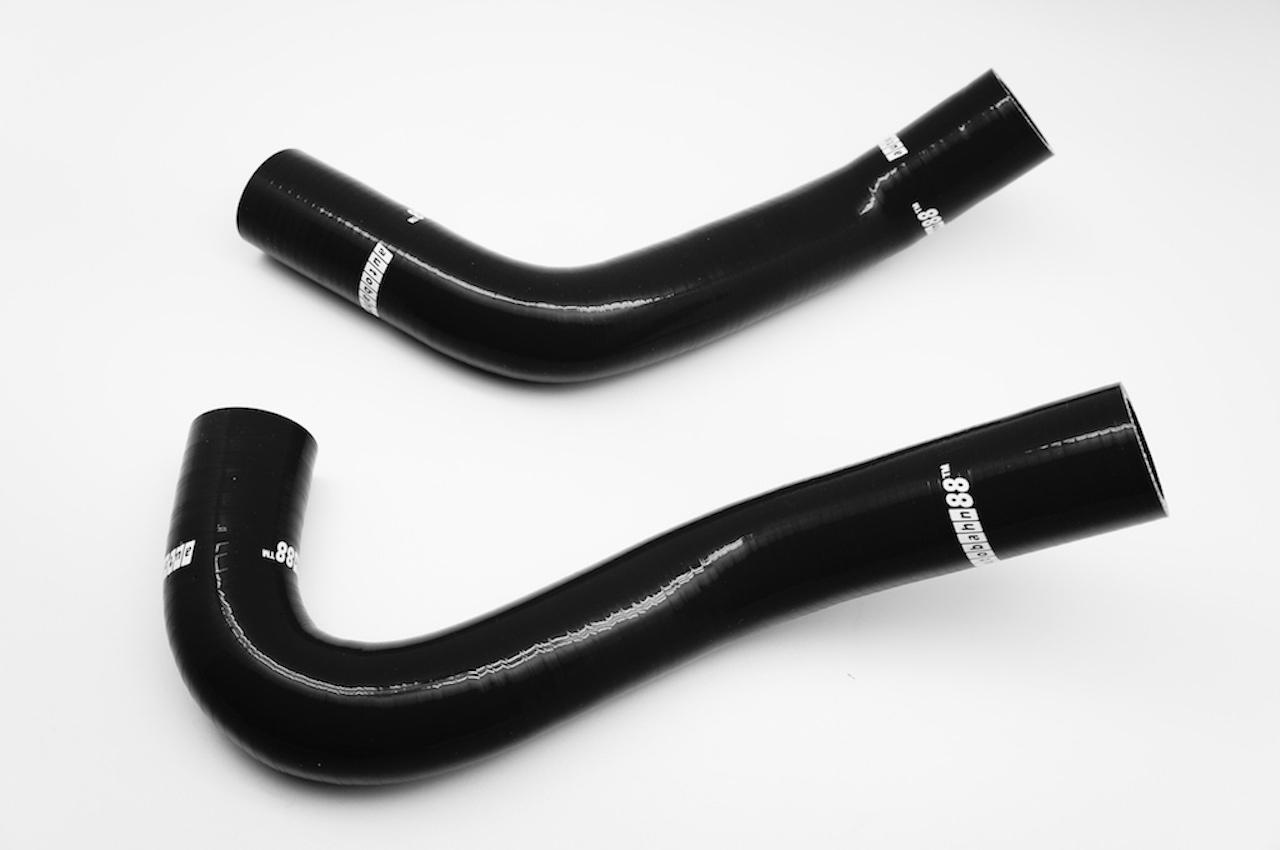 スズキ・スイフト Swiftスポーツ ZC31S、ZC/ZD11,21S  シリコンラジエーターホース 黒