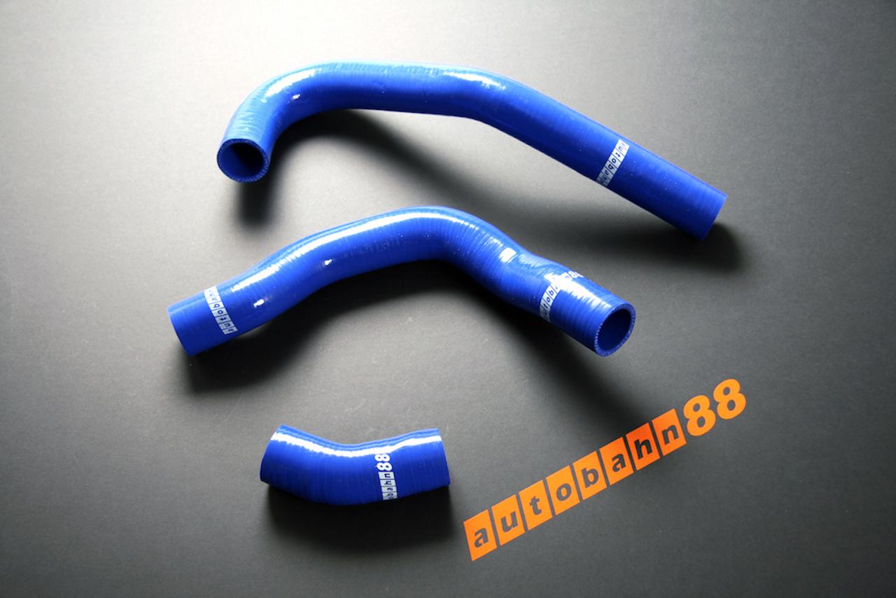 シリコンラジエーターホース  日産 シルビア S13 CA18DET 180SX 青