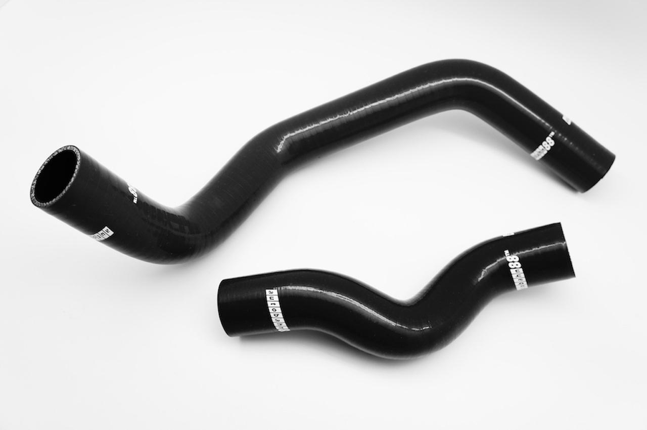 全国どこでも送料無料 耐久 耐熱 耐圧に優れる強化 超美品再入荷品質至上 日産 シルビア SILVIA SR20DET 黒 シリコンラジエーターホース S15 200SX