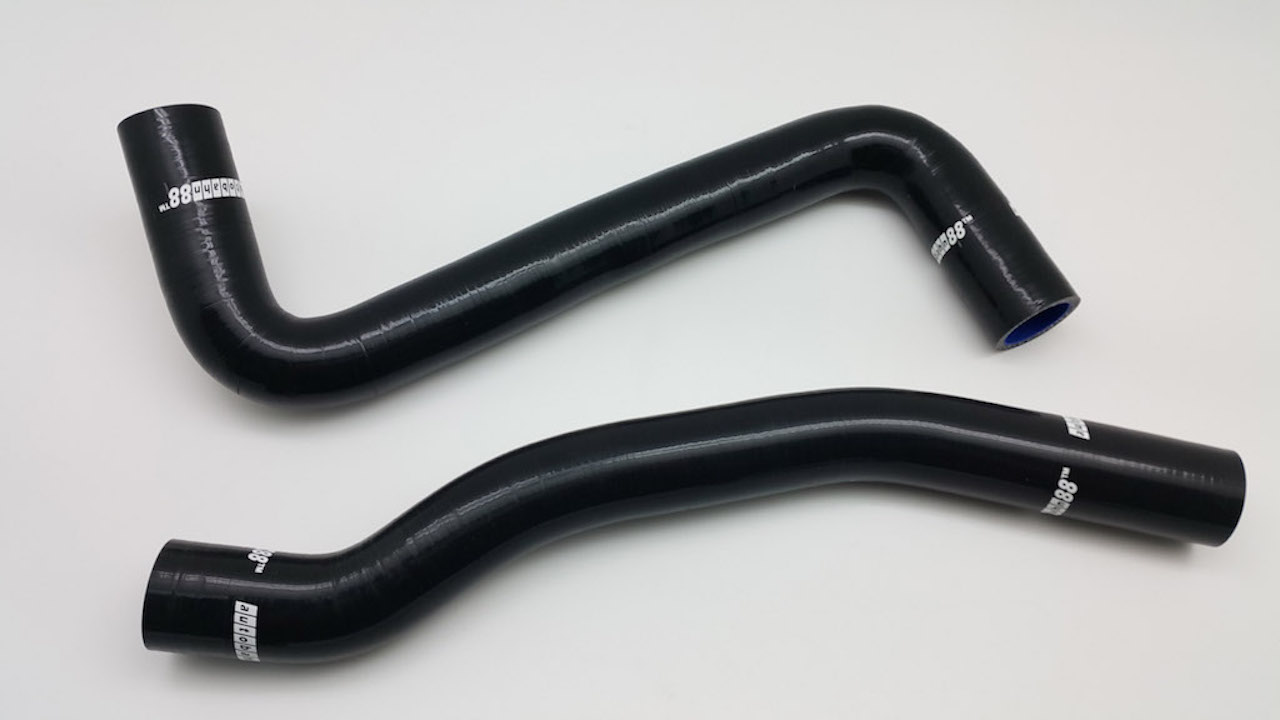 トヨタ・セリカ  Celica  GT4 ST205 3S-GTE シリコンラジエーターホース 黒