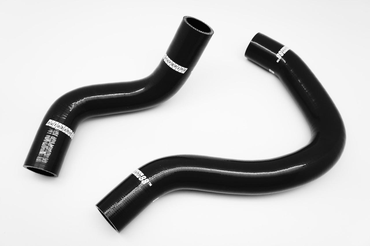 ホンダ・シビック  CIVIC タイプR  EP3 K20A シリコンラジエーターホース 黒