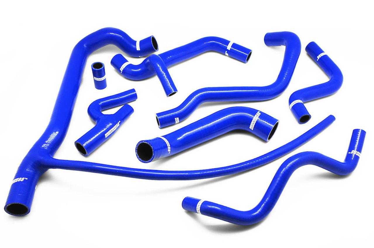 シリコン ラジエーター&ヒーターホース ゴルフ VW  コラード(Corrado )G60 青