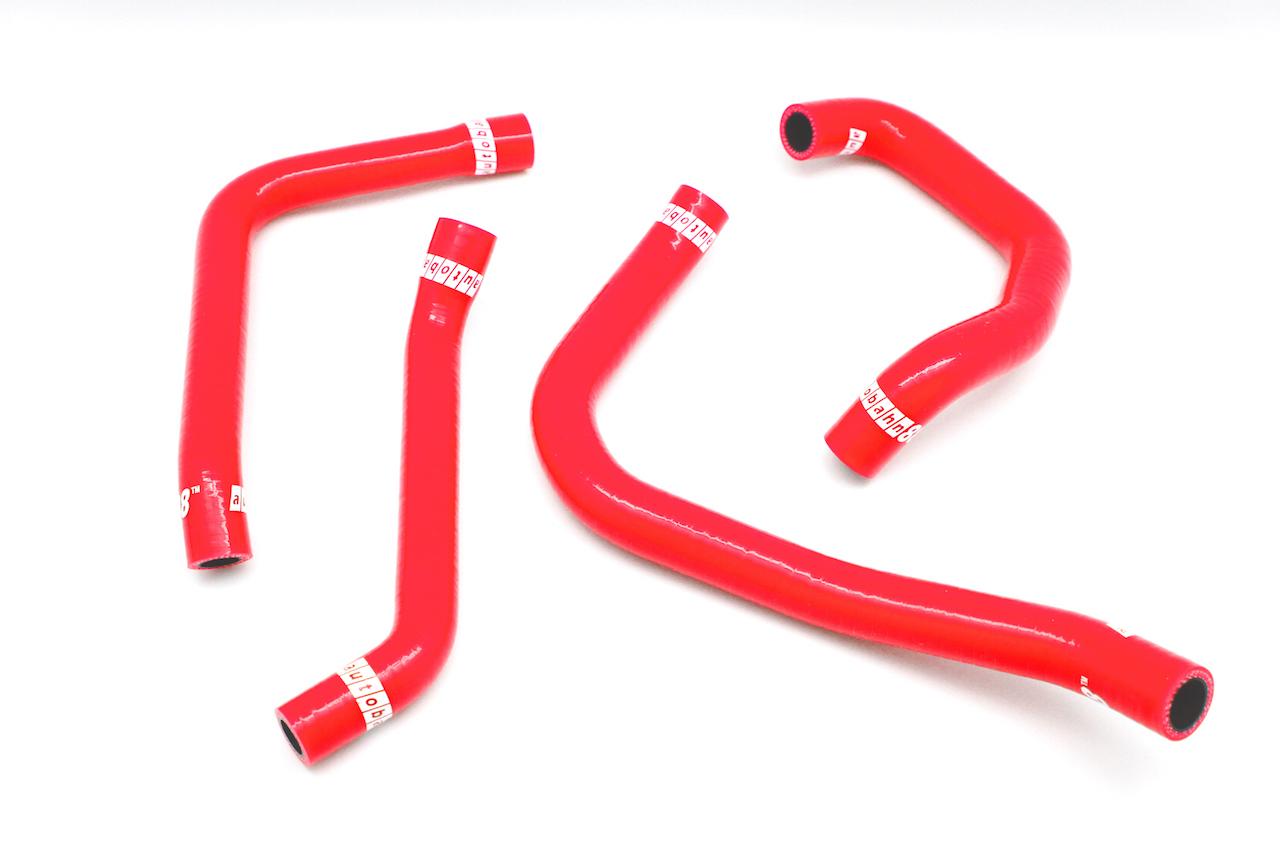 シリコン エンジンブリーザーホース カバー ホース キット スバル レガシィ 4代目 BL/BP系, BL5/BL9/BLE/BP5/BP9/BPE型 赤