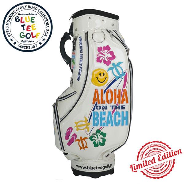ブルーティーゴルフ キャディバッグ【2019新作モデル】(CB-009) ALOHA ON THE BEACH【9.0型/重量4.4kg/46インチ対応/口枠5分割】【送料無料】(即納・メーカー取寄せ)
