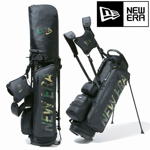 ニューエラゴルフ スタンドキャディバッグ 9型/48インチ/3kg【NEW ERA正規品】軽量 メンズゴルフ カートバッグ キャディバッグ (12325911)送料無料