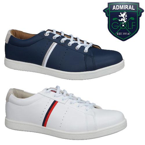 アドミラルゴルフ スパイクレス ゴルフシューズ (ADMS7S)替え紐付き! Admiral(アドミラル) MARHAM/マーハム 正規品(メンズゴルフシューズ/レディースゴルフシューズ/スパイクレス) (即納・メーカー取寄せ)
