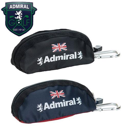 アドミラルゴルフ 豪華な ゴルフ ボールポーチ ADMZ9STH 秋冬継続モデル サービス AdmiralGolf マルチケース 即納 メーカー取寄せ アドミラルゴルフ正規品 ボールケース ティケース