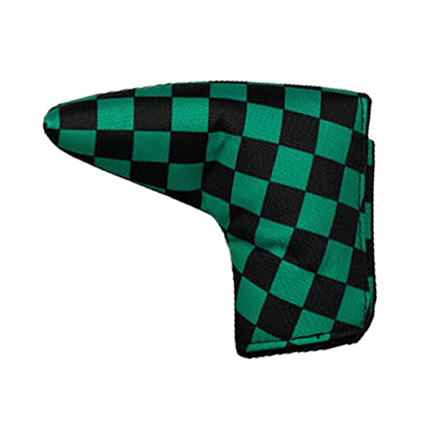 色柄20タイプ パターカバー ピンタイプ AZROF アズロフ 最安値に挑戦 新作販売 ピン型 マグネット式 AZ-SPC14P-9001 L型 市松模様