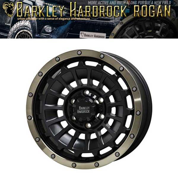 バークレイ ハードロック ローガン BARKLEY 全品送料無料 店舗 HARD-ROCK ROGAN 送料無料 INSET38 16インチ 5H-114.3 ※別途納期あり 16inch×7.0 アルミホイール4本セット
