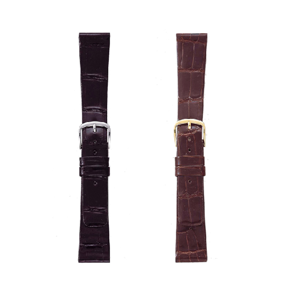 腕時計ベルト ベルト交換 時計 大規模セール ベルト クロコダイル シャイニング ワニ革 レザー 17mm BAMBI 新色追加 18mm バンビ GREACIOUS お取り寄せ 19mm グレーシャス