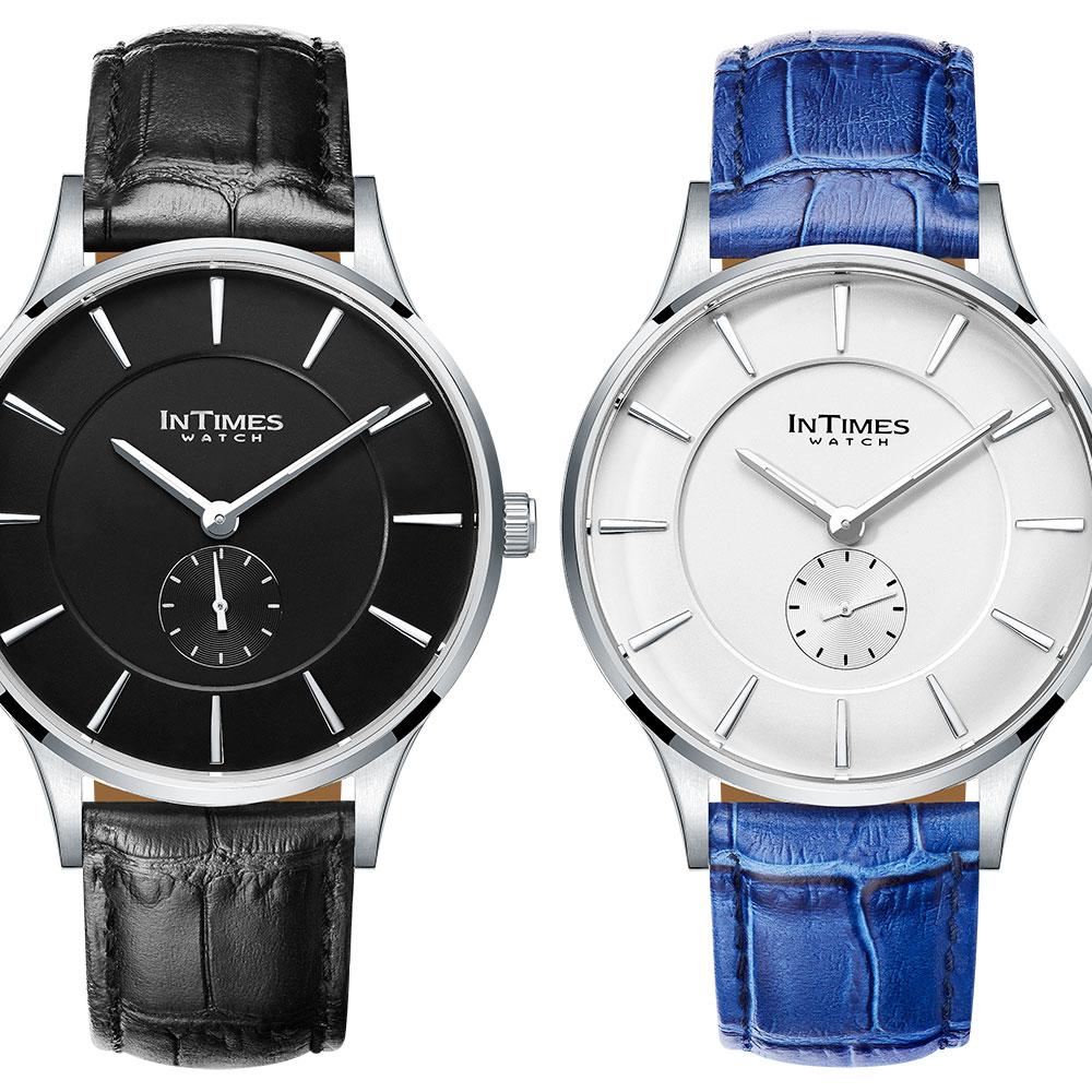 INTIMES インタイムス スモールセコンド メンズ 腕時計 ITPC2106