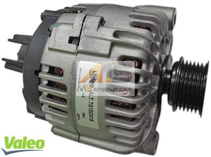 【M's】E65 E66 BMW 7シリーズ(直6)VALEO製 オルタネーター 14V(150A)//純正OEM 1231-7546-285 12317546285 439486 730i 730Li ダイナモ バレオ