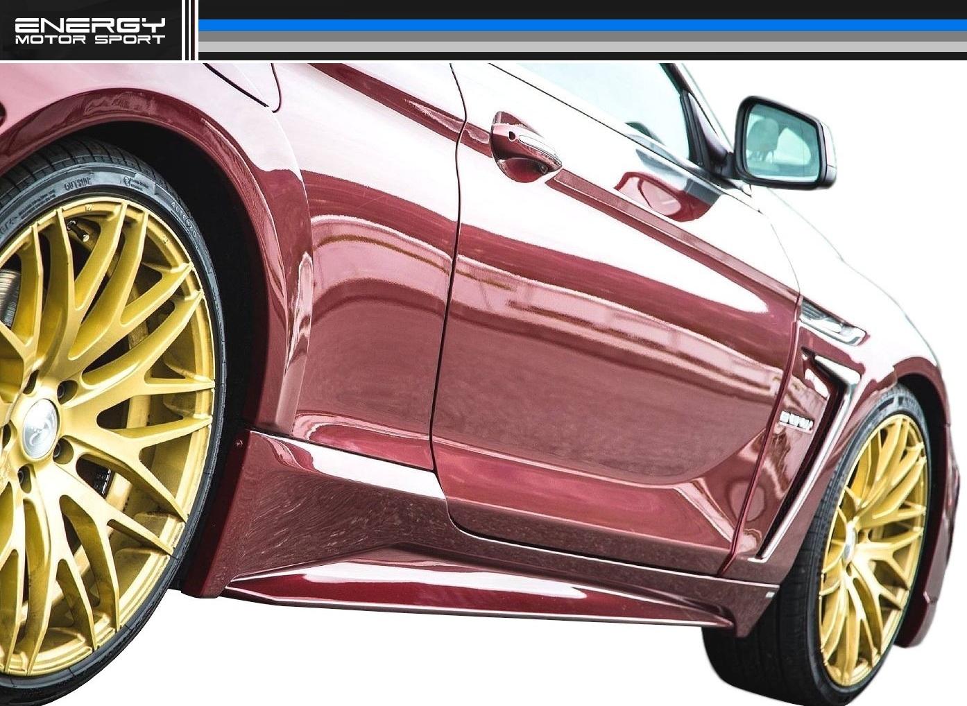 BMW 6シリーズ F12 F13 F06 サイド スポイラー(左右)ENERGY MOTOR SPORT エナジー モーター スポーツ エアロ クーペ カブリオレ グランクーペ M6