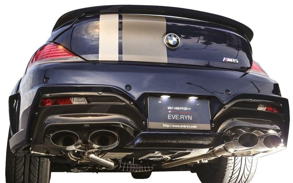 【M's】BMW 6シリーズ(2003-2011)E63/E64 リア バンパー キット カーボン エディション / ENERGY MOTOR SPORT エアロ // リヤ バンパー / カーボン ディフューザー / クーペ/カブリオレ / 630i 645Ci 650i SMG / EH30 EH44 EH48 EK44 EK48