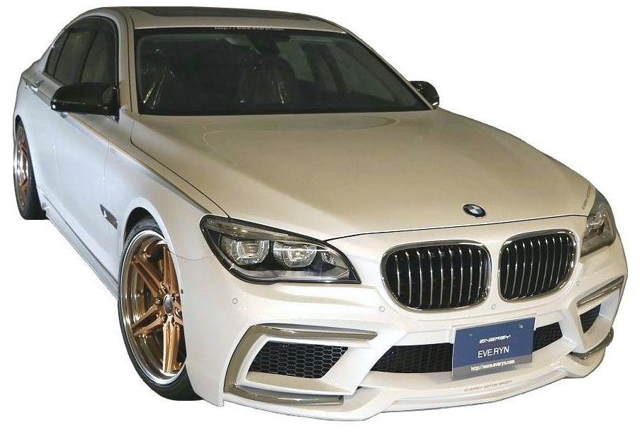 【M's】BMW 7シリーズ F01/F02(2009.3-)フロント バンパー キット / ショート ロング / ENERGY MOTOR SPORT エアロ // フロントバンパー / クロームメッキカバー / ダクトネット / A-01/02FK