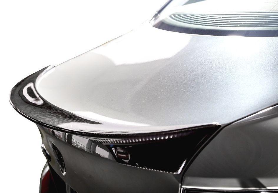 【M's】BMW 5シリーズ(2010.3-)F10 カーボン トランク スポイラー CFRP / ENERGY MOTOR SPORT エアロ // リア ウイング / EVO10.1 / セダン