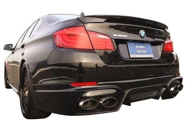 【M's】BMW 5シリーズ(2010.3-)F10 トランク スポイラー FRP / ENERGY MOTOR SPORT エアロ // リア ウイング / EVO10.1 / セダン