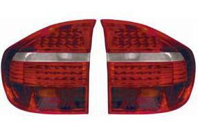 【M's】BMW E70 X5 LED テールレンズ アウター左右(レッド・クリスタル クリア・レッド/タイプ-1)210898 新品