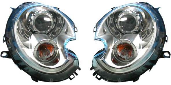【M's】BMW ミニ MINI R55 R56 R57 (2010y-以降のキセノン車)HELLA製/MARELLI社製バイキセノンヘッドライト左右セット 63127269989 63127269990 6312-7269-989 6312-7269-990 新品