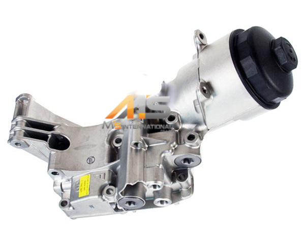 【M's】 BMW E53 X5 3.0i Xシリーズ 純正品 オイルフィルターハウジング(1142-1713-838 11421713838)