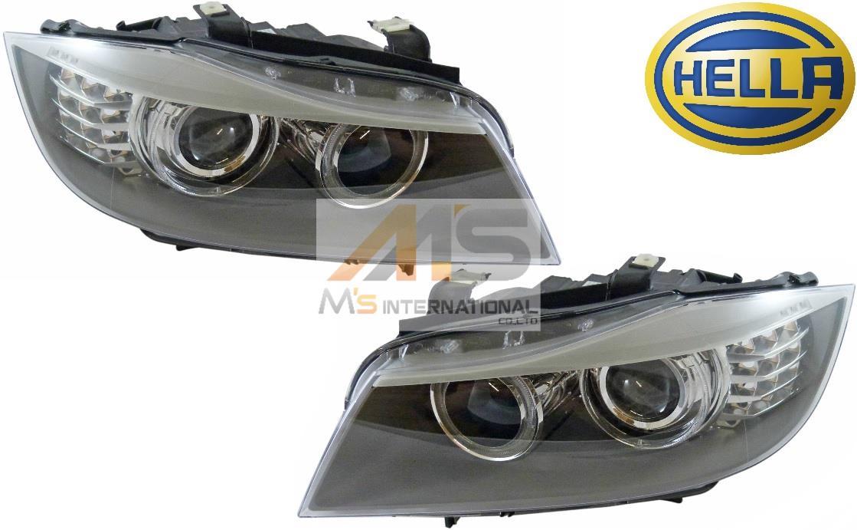 【M's】E90 E91 BMW 3シリーズ 後期用(2008y-2011y)HELLA製・他 バイキセノン ヘッドライト 左右//320i 323i 325i 330i 335i 純正OEM HID ライト 6311-7240-249 6311-7240-250 63117240249 63117240250