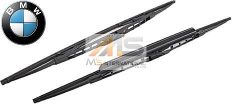 【M's】E53 BMW X5(2000y-2007y)純正品 フロント ワイパーブレード 左右セット//正規品 3.0i 4.4i 4.6is 4.8is 6161-0032-743 61610032743