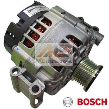 【M's】E60 E61 5シリーズ/X1 E84/X3 E83/Z4 E85 BOSCH製 オルタネーター(14V/140A)※2ピンタイプ//BMWダイナモ 1231-7533-270 12317533270 439476