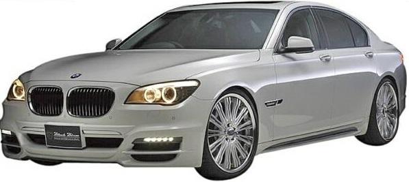 【M's】F01/F02/F03/F04 BMW 7シリーズ(2010y-2015y)WALD Black Bison エアロ 3点キット//FRP製 社外品 ブラックバイソン エアロキット フルエアロ KIT 740i 740Li 750i 750Li 760Li ActiveHybrid 7/7L