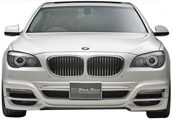 【M's】F01/F02/F03/F04 BMW 7シリーズ(2010y-2015y)WALD Black Bison フロントバンパースポイラー//FRP製 社外品 ブラックバイソン エアロ 740i 740Li 750i 750Li 760Li ActiveHybrid 7/7L