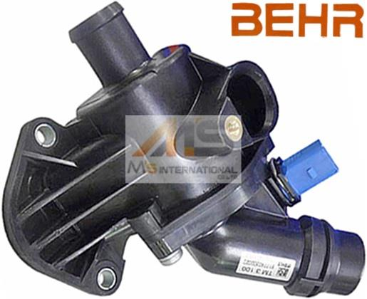 【M's】アウディ A4/S4/RS4 8E(B6/B7)BEHR製 サーモスタット//純正OEM AUDI ALT AMB BFB 06B-121-111K 06B121111K