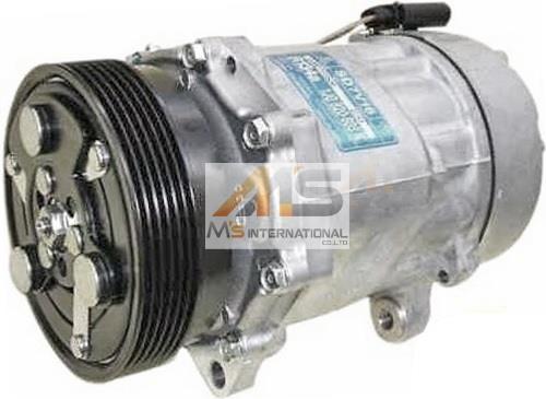 【M's】VW ゴルフ4(1J)AC エアコンコンプレッサー//純正OEM 社外品 ACコンプレッサー GOLF4 1J0-820-803N 1J0-820-803L 1J0820803N 1J0820803L