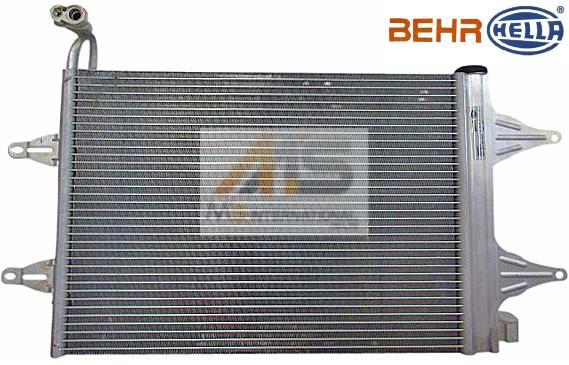 【M's】VW ポロ POLO 9N(2002y-2010y)BEHR製 エアコン コンデンサー//純正OEM ACコンデンサー 6Q0-820-411K 6Q0820411K