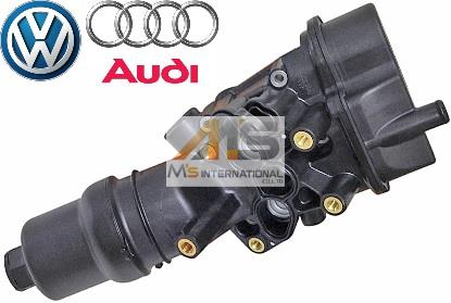【M's】VW アウディ/AUDI A3(2004y-2008y)純正品 オイルフィルターブラケット//正規品 オイルフィルターケース 06D-115-397K 06D115397K 06D-115-397J 06D115397J 06D-115-397G 06D115397G