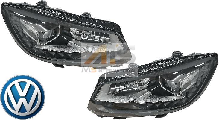 【M's】VW トゥーラン Touran 1T(2011y-2015y)純正品 ゴルフ バイキセノン ヘッドライト 左右//正規品 左側通行用 日本仕様 車検対応 L/R ディスチャージドランプ HID LEDデイタイムライト LEDデイライト 1T2-941-753H 1T2-941-754H 1T2941753H 1T2941754H
