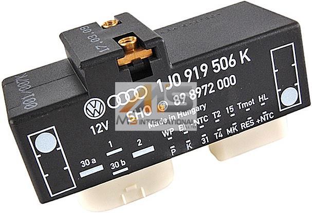 【M's NEW】VW ニュービートル(9C/1Y)電動ファンコントロールユニット(リレーユニット)//純正OEM フォルクスワーゲン NEW BEETLE BEETLE 1J0-919-506K 1J0-919-506K 1J0919506K, 加茂町:c1c3222b --- officewill.xsrv.jp