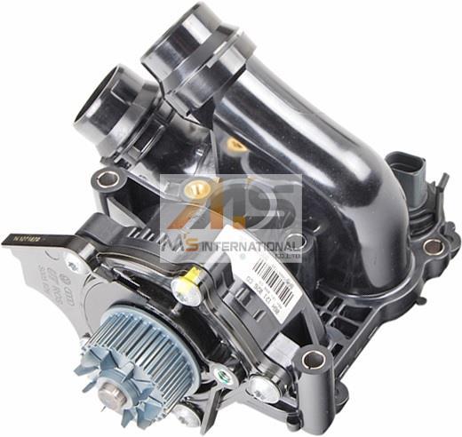 【M's】VW ディグアン(5N)/シロッコ(13C)/イオス(1F)サーモスタット一体型 ウォーターポンプASSY//純正OEM フォルクスワーゲン VOLKSWAGEN 06H-121-026DD 06H121026DD