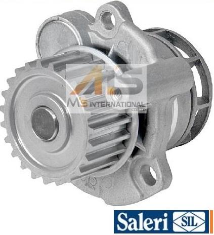 【M's】VW イオス(1F)/パサート(3C)/シロッコ(13C)SIL製 ウォーターポンプ (パッキン付) //社外品 06F-121-011V 06F121011V PA1373
