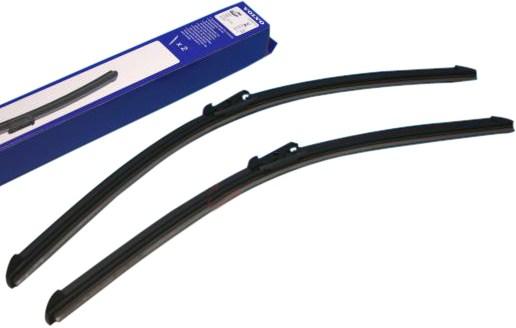 【M's】ボルボ V70(285)S60 S80 XC70 XC90(05y~)右ハンドル/純正品 フロントワイパーブレードセット新品