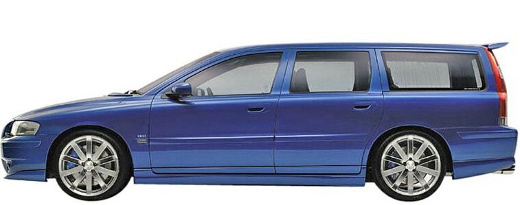【M's】ボルボ V70II-R SB(2005y-2007y)ERST サイドステップ 左右//ZYX017-V70R02 VOLVO エアスト 新品