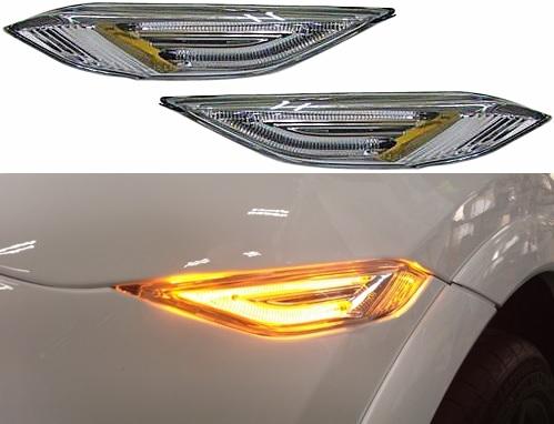 【M's】ポルシェ カイエン 958(2010y3-)LEDサイドマーカー 左右//社外品 PORSCHE Cayenne