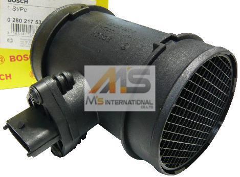 【M's】アルファロメオ 155 156 V6-2.5L 24V BOSCH製(他OEM品) エアフロセンサー // ALFAROMEO ボッシュ製 0280-217-531/0280217531(46444287) エアフロメーター エアマス メーター 正規 社外品 高品質 エムズ 新品