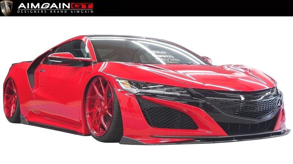 ホンダ NSX NC1 フル エアロ 4点 セット ドライカーボン製 AIMGAIN エイムゲイン / HONDA new NSX body kit 4P Dry Carbon